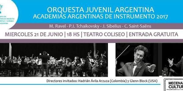 Imagen de ORQUESTA JUVENIL ARGENTINA EN CONCIERTO