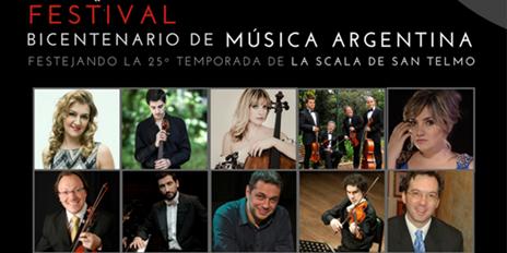 Imagen de Festival Bicentenario de Música Argentina