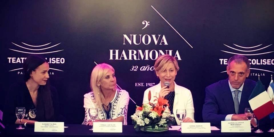 Imagen de Nuova Harmonia presentó su temporada 2018