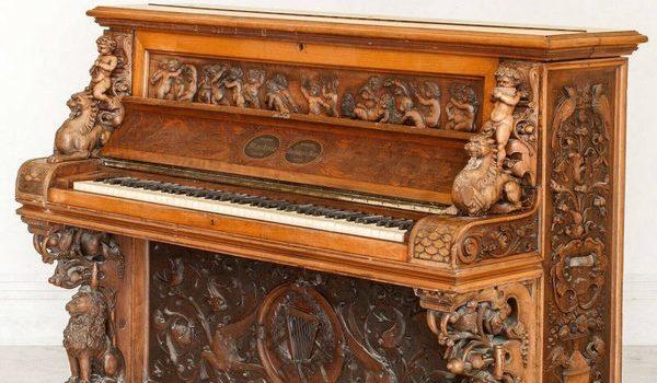 Imagen de El famoso piano inmortal se vende en 2 millones de dólares