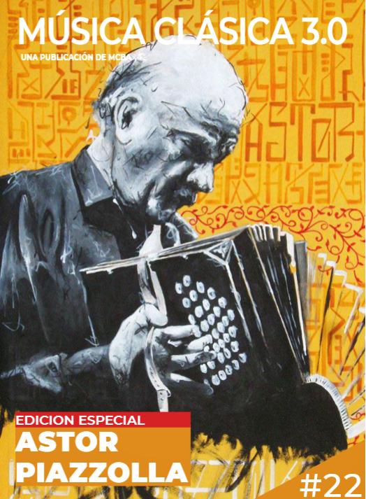 Revista edición Piazzolla 100 años