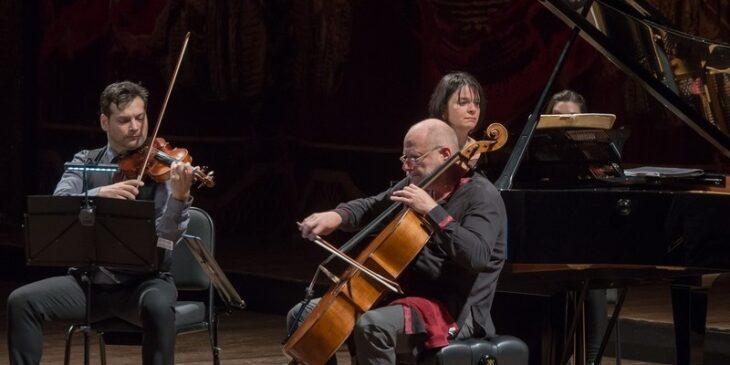 Imagen de El Trío Smetana presentó en para el Mozarteum Argentino dejando una estela de elegancia musical
