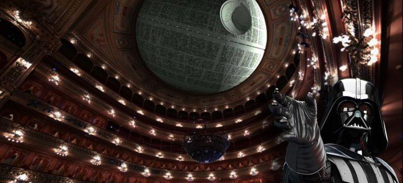 """Imagen de El Teatro Colón canceló """"Star Wars Experience"""""""