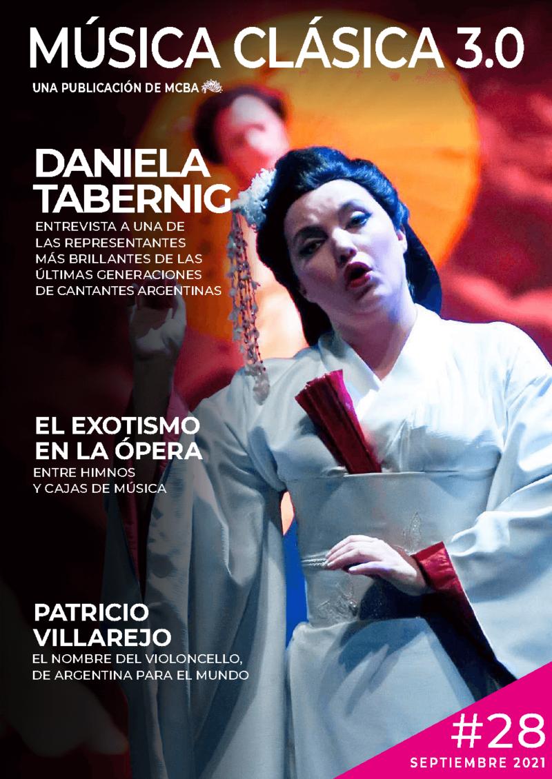 Revista Música Clásica 3.0 - Septiembre 2021 - Daniela Tabernig