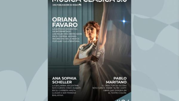 Leé la nueva edición de la revista Música Clásica 3.0 del mes de mayo