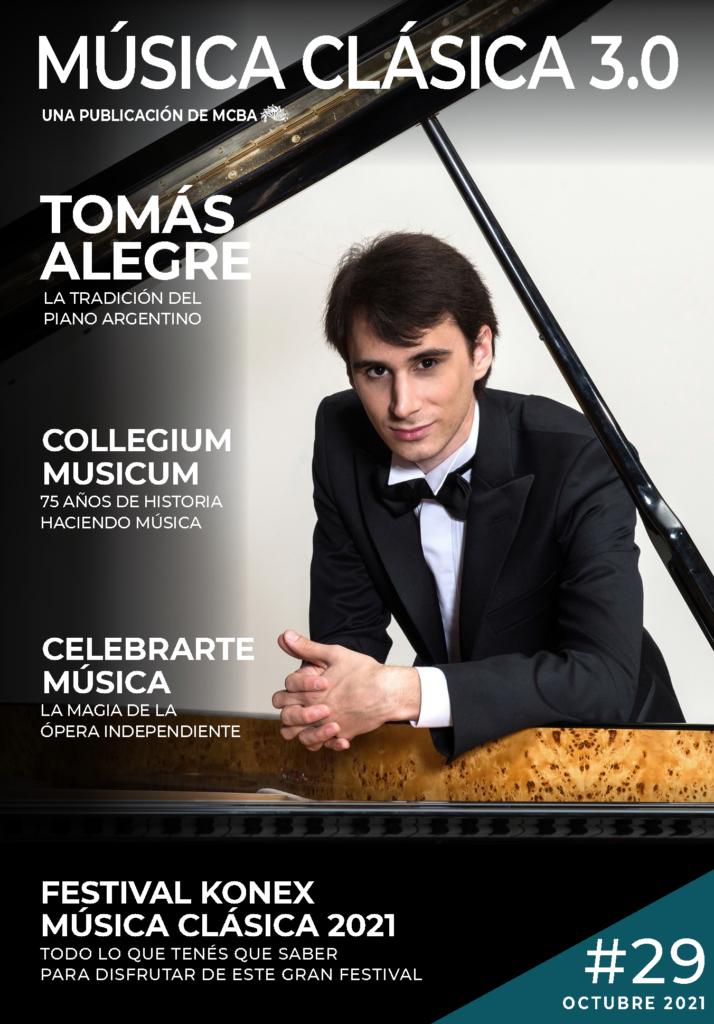 Nueva edición de la revista Música Clásica 3.0 - Octubre 21