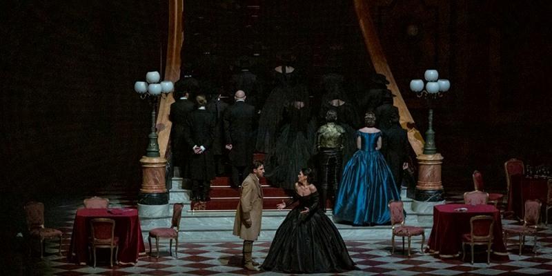 Imagen de La Traviata en París