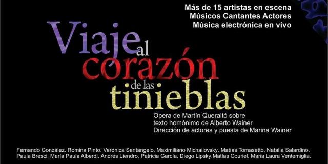 Imagen de VIAJE AL CORAZÓN DE LAS TINIEBLAS -Ópera de Martín Queraltó
