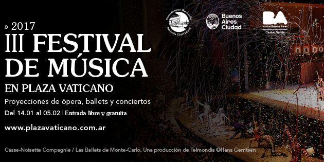 Imagen de Festival de Música en Plaza Vaticano